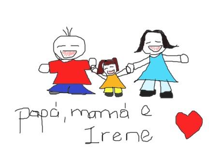 Papá, mamá e Irene